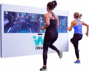 mur virtuel fitness Iwall