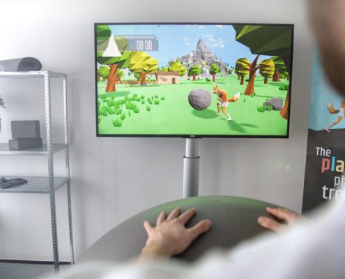 balle interactive sisyfox