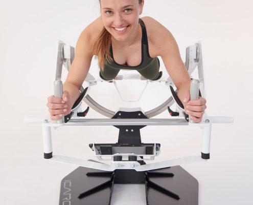 Icaros Pro Fitness virtuel actif